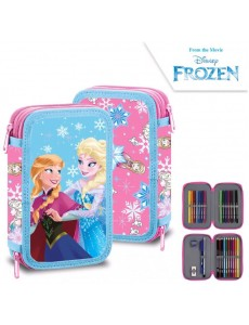 ESTOJO ESCOLAR FROZEN DISNEY
