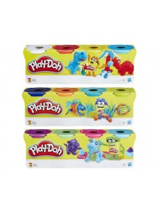 PLASTICINA PLAY DOH PACK 4 UNIDADES