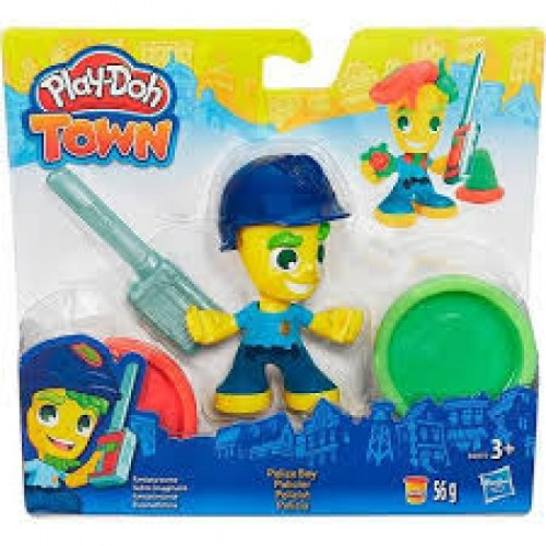 PLASTICINA PLAY DOH TOWN - POLICIA