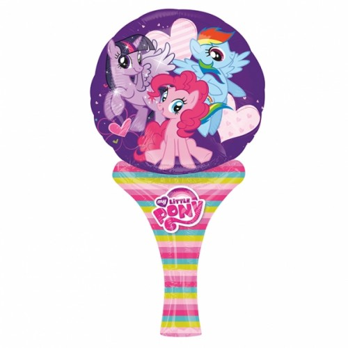 BALÃO RAQUETE MY LITTLE PONY